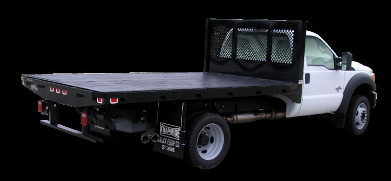 Platform Bodies - Bodies   Regional Truck Equipment