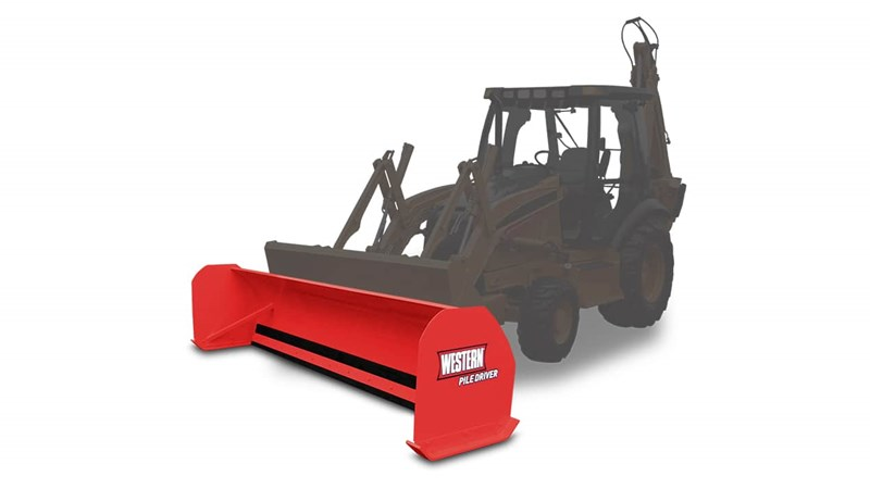 Pile Driver Backhoe Pushers - Backhoe | Regional Truck Equipment