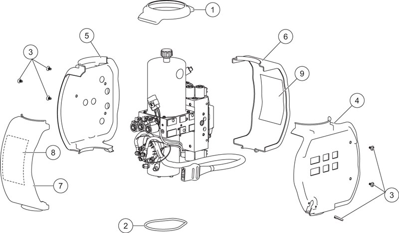 UM2_MVP-3-Hydraulic-Unit-Cover-Assembly