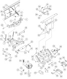 pro-plow_a-frame_quadrant_and_lift_frame_components