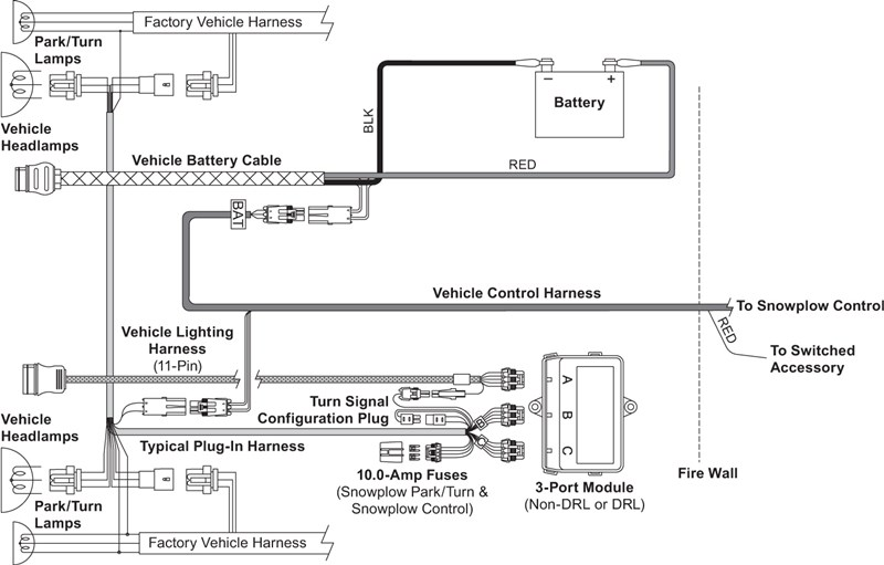 UM_wide-out_vehicle-side_wiring_diagram_3-port_2-plug_system